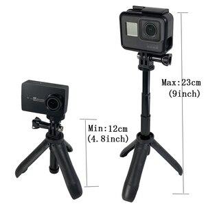 Image 2 - Mini desktop stativ Selfie stick halter aluminium legierung Stange montieren dji kamera Für DJI osmo Tasche/osmo Tasche 2 kamera
