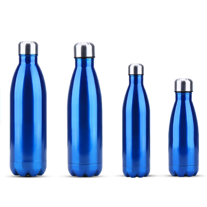Stainless Steel Water Bottle Sports Camping Cycling Insulated Cup Vacuum Flask