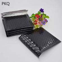10pcs 6 sizes Black Bubble Envelope Mailer Packaging Bubble Envolope Bag Free Shipping small Poly plastic Padded bag(China)