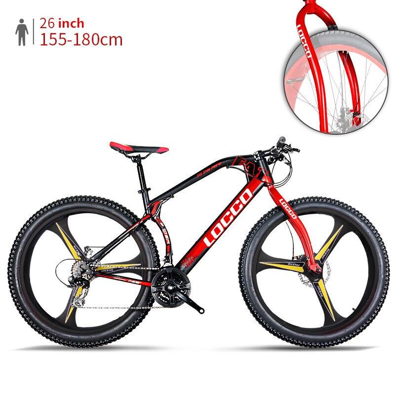 New Brand Mountain Bike 3.0 Inch Width Tire Steel Frame 26 Inch Integrally Wheel All Terrain Off-road Snow Beach Sport Bicycle