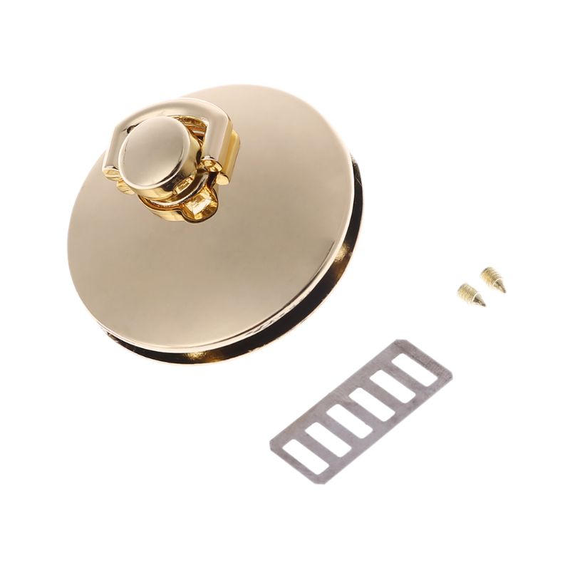 Metal Clasp Turn Twist Lock For DIY Craft Shoulder Bag Purse Handbag Hardware Accessories 517D