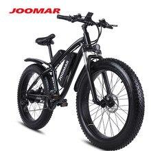 JOOMAR Electric Bike 1000W 48V Motor 4.0 Fat Tire Mountain Bike Beach Snow Bicycle for Men MTB Ebike Kit 17AH Battery MX02S Plus