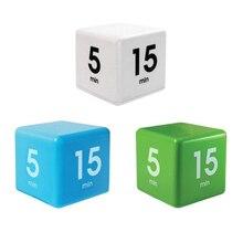 Кухонный таймер конфетного цвета, таймер Miracle Cube, 5, 15, 30 и 60 минут для управления временем, детский таймер, таймер для тренировки