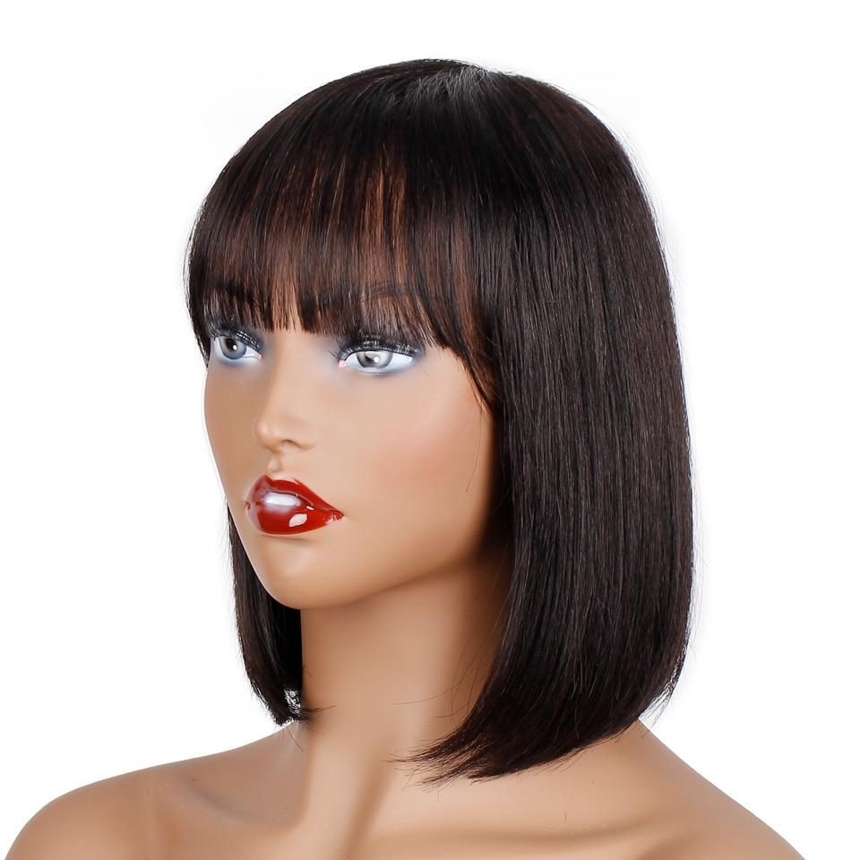 Peruca de cabelo humano peruano peruano feito