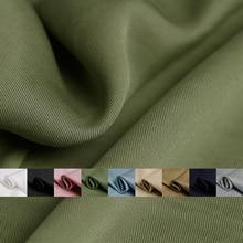 The Cloth England Tencel Twill Fabrics Soft Vertical Sense 100%Tencel Materials Autumn Women Dress Sewing Cloth Freeshipping