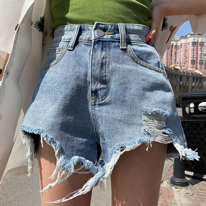 Cheap Wholesale 2019 New Spring Summer Autumn  Hot Selling Women's Fashion Casual Sexy Shorts Outerwear FP252