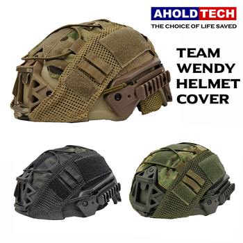 Mulitcam Team Wendy High Cut FAST Ballistic Bulletproof Helmet Cover Cap With Elastic Rope For Tactical Army wendy ann diaz a high price for justice