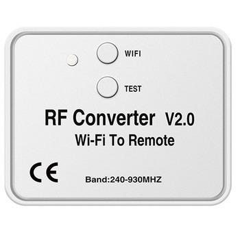 Uniwersalny przełącznik pilota WiFi 433MHz WiFi do konwertera RF wieloczęstotliwościowy pilot do drzwi garażowych tanie i dobre opinie other NONE CN (pochodzenie)