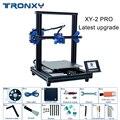2019 Tronxy последнее обновление XY-2 PRO 3d принтер DIY наборы повторная печать с отключением питания быстрая сборка Высокая точность автоматическое...