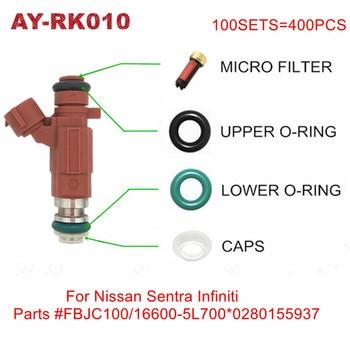 200sets Fuel Injector Service Kits For Nissan Sentra Infiniti FBJC100 16600-5L700 0280155937 Repair Kits For Auto Parts AY-RK010