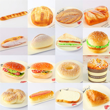 Model swing Kids Kitchen Toy Donuts Doughnuts Simulation Model Artificial Fake Bread Ornaments Cake Bakery Craft High Quality