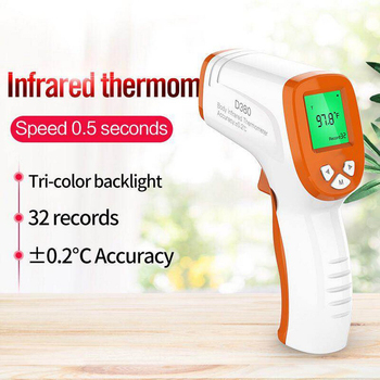 Handheld Infrared Thermometer Gun High Precision Portable Non-Contact Baby Adult Forehead Body Digital Thermometer