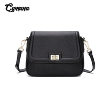 Real Leather Shoulder Bag 2019 Woman Genuine Casual Design Crossbody Bags Simple Messenger Flap