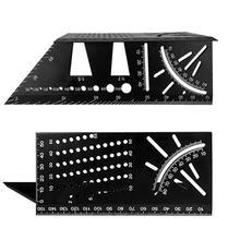 Mini Aluminum Scriber Mark Line Joints Gauge Dovetail Maker Template Guide Tool Aluminum Alloy Marking Gauge Woodworking Tool aluminum woodworking center finder line measuring marking gauge scriber logging tool woodworking