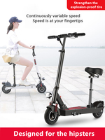 Elektrische Roller Erwachsene Folding Elektrische Fahrzeug Fahren und Reisen Tragbare Ultraleicht Kleine Mini Batterie Auto