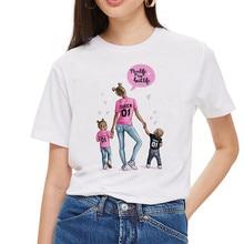 Super Mom T shirt Women Mother's Love Print White T- Harajuku Mama TShirt Vogue Tops