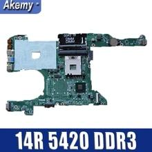 Dell inspiron 14r 5420 i5420 pc 메인 보드 용 노트북 마더 보드 0kd0cc da0r08mb6e2 full tesed ddr3