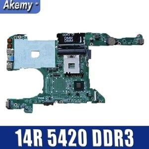 Image 1 - Płyta główna płyta główna laptopa do DELL Inspiron 14R 5420 I5420 płyta główna komputera 0KD0CC DA0R08MB6E2 pełna tesed DDR3