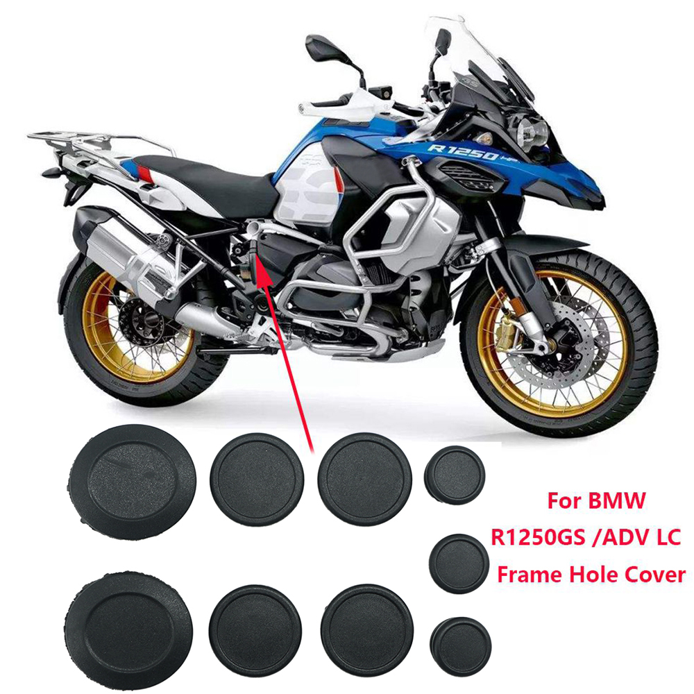 For BMW R1250GS LC R1250 GS Adventure 2018-20 Motorcycle Frame Hole Cover Caps Plug Kit Decor Motorcycle Fairing Body Protection
