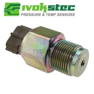 Image 3 - Kraftstoff Schiene Hochdruck Sensor Regler Für Isuzu 4HK1 6HK1 Motor Mitsubishi L200 Pickup 2,5 D TD 499000 6160 6160