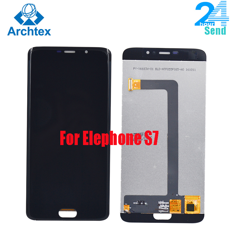 "For Original Elephone S7 LCD in Mobile phone LCD Display+Touch Screen Digitizer Assembly lcds +Tools 5.5"" 1920x1080P stock