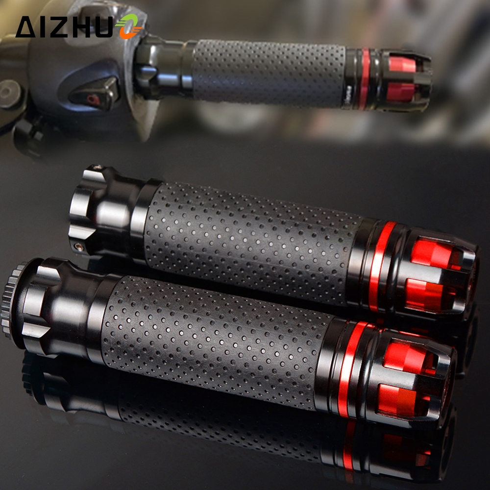 CNC Motorcycle Accessories Handle Grips Handlebar Hand Bar Grip For Honda CBR 600 F2,F3,F4,F4i CBR600RR CBR600 CBR750 RR