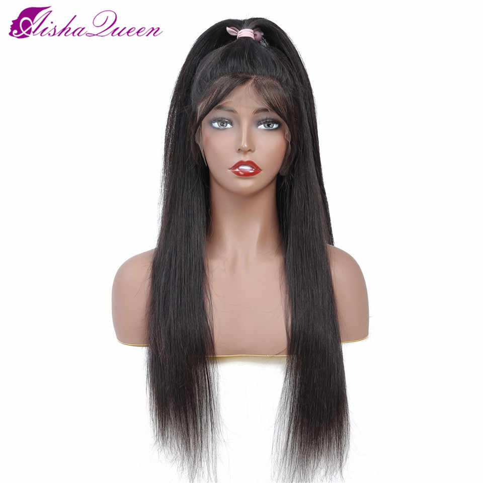 Lace Front Human Hair Wigs Straight Pre Plucked Hairline Baby Hair 150% 13*5 Brazilian Remy Human Hair Lace Front Wigs