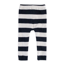 лучшая цена 2019 Autumn and Winter 1-7Y boy Girl Leggings Cotton Striped Leggings For Girls Children Casual Warm Trousers Kids Pants