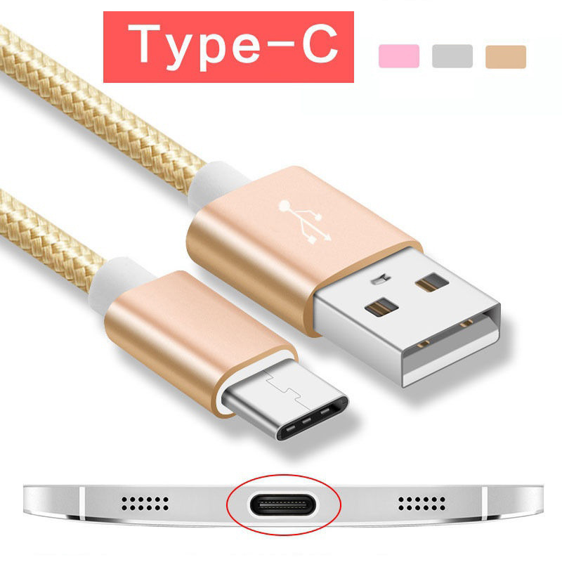 USB Type-C Fast Charging Cable for Pocophone F1 for Xiaomi Mi A2 Mi8 SE Mix 2S A1 Max <font><b>2</b></font> Smartphone USB Tipo C Charger Cord image