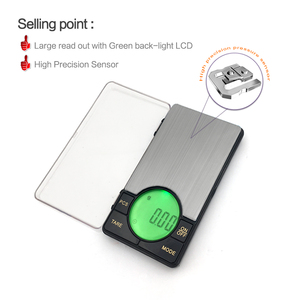 Image 4 - Precision Digital Pocket Weight Jewelry Scale with Large LCD Backlight,500G by 0.01G,Gram Scale
