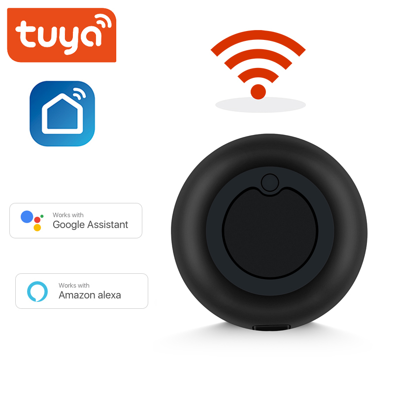 Tuya WiFi IR Remote Controller Mini Smart Home 360° 10m Remote Control Switch For TV Air Conditioning Appliances Voice Control