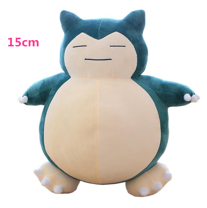 15cm Anime Snorlax Plush Peluche Toy Cute Snorlax Soft Stuffed Doll For Children Gifts image