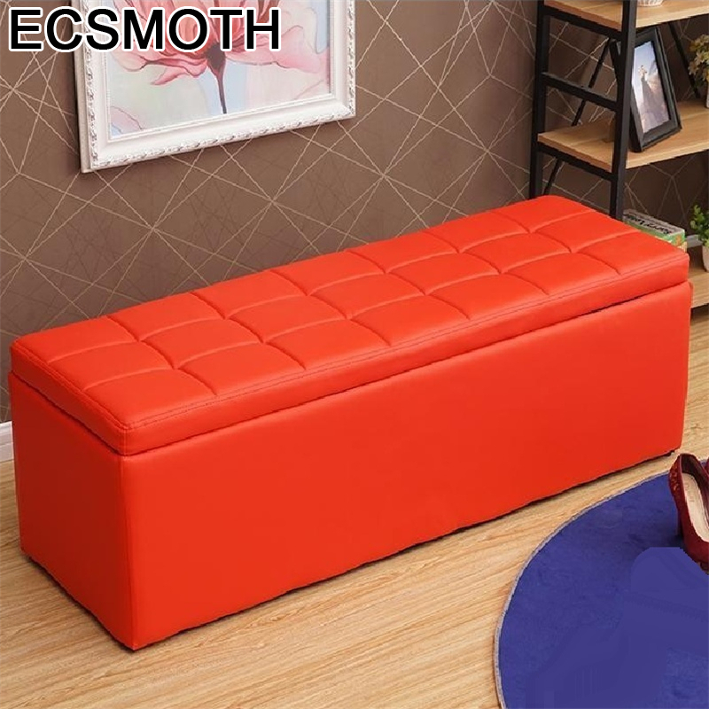 Ottoman Moderno Rangement Escalera De Aluminio Taburet Ladder Clothing Store Change Shoes Poef Kids Furniture Pouf Foot Stool