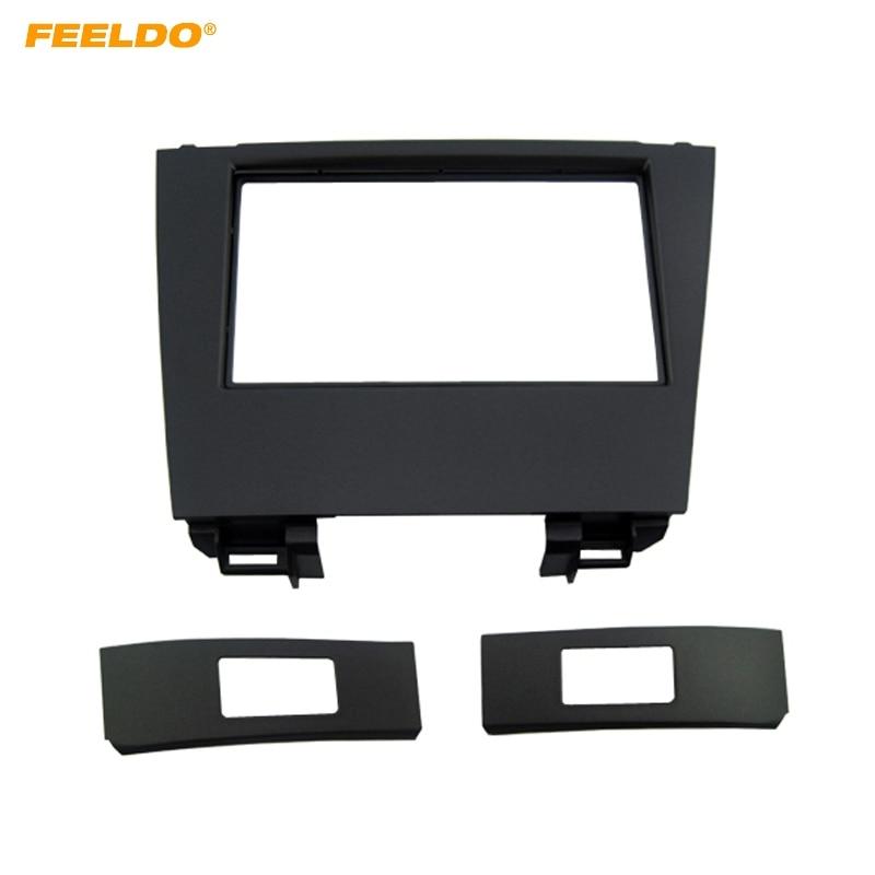 FEELDO Car 2Din Stereo Fascia Frame Plate Adapter For Lexus ES350 2006 2012 CD/DVD Dash Panel Installation Frame Trim Kit #4924|Fascias| |  - title=