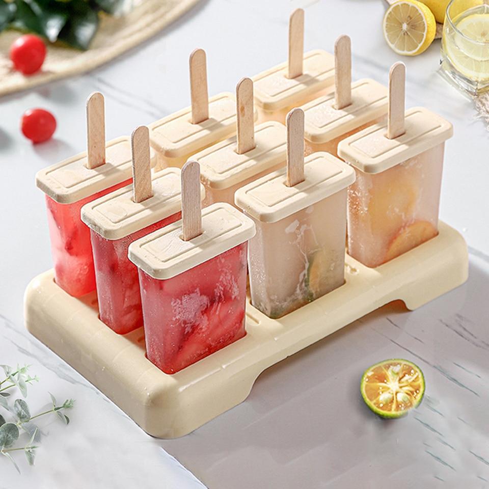 Moule A Glace Ete Fait Maison Moule A Glace Moule A Popsicle Plateau Cuisine Ice Box Set Bricolage Accessoires Ice Cream Sticks Aliexpress