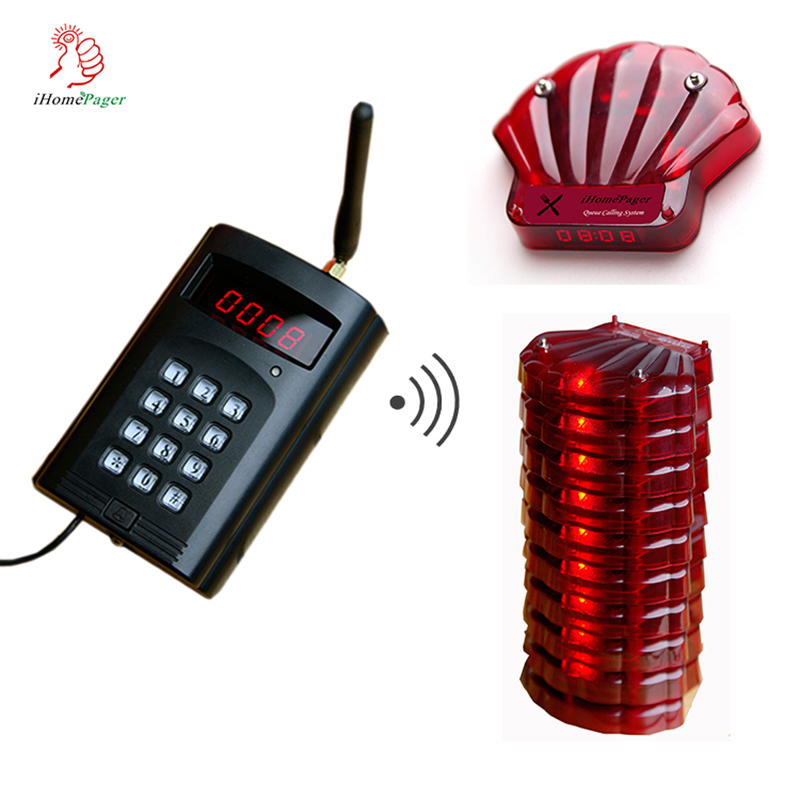 Long Range Wireless Queue Call System Restanrant Cafe Dessert Auto 4S Shop Medical Examination Center Ordering Call Button
