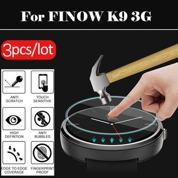 For FINOW K9 3G Smart Watch 31 32 33 34 35 36 37 38 39 40 41 42 MM Diameter General Screen Protector Film Tempered Glass image
