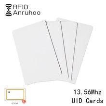 5/10 adet 13.56Mhz akıllı çip RFID yeniden yazılabilir kopya kartı UID fotokopi etiketi 1K S50 teksir klon ISO14443 değiştirilebilir rozeti