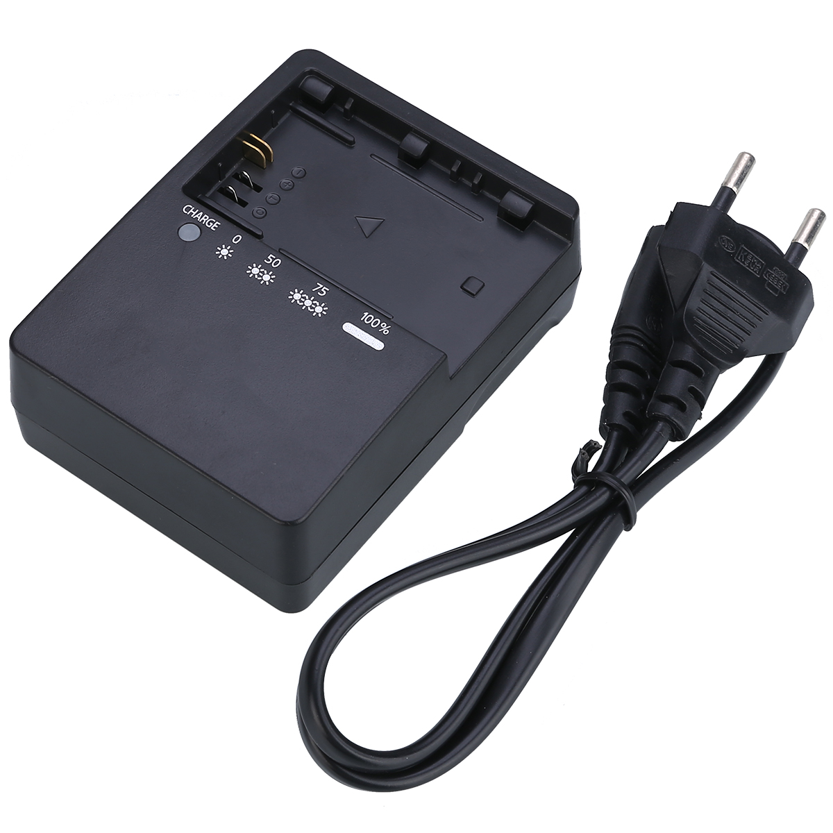 Newest LC-E6E Battery Charger Fast Charging Camera Charger For Canon LP-E6 5D Mark II III 7D 5D2 5D3 7D 60D 6D Batteries