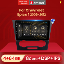Junsun V1 Pro Phát Thanh Xe Hơi Có Màn Hình Đa Phương Tiện Video Cho Xe Chevrolet Epica 1 2006   2012 Android Tự Động CarPlay 2 Din DVD
