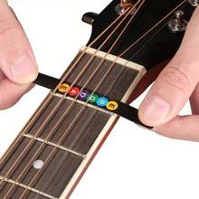 Guitar Fretboard Notes Map Labels Sticker Fingerboard Fret Guitarra Key Accessories Acoustic String Electric For 6 Decals W9C6(China)