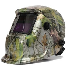 Welding mask Welding helmet Solar energy automatic (solar energy use for refill) Three additional pair of glasses Glass camoufla цена и фото