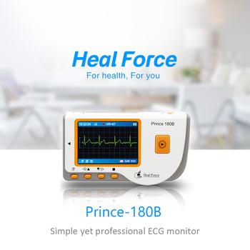 Heal Force Monitor EKG medyczny ręczny Monitor EKG EKG Monitor pracy serca z kablem USB + elektroda Pad + przewody przyłączeniowe tanie i dobre opinie Z Chin Kontynentalnych ECG Monitor Elektroniczne urządzenie do pomiaru tętna DO NADGARSTKA