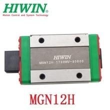 1pc original Hiwin miniature linear guide block MGN12H