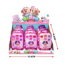 Child princess Makeup trolley case set Girl cosmetics Play house educational toys birthday present Creative decoration beauty