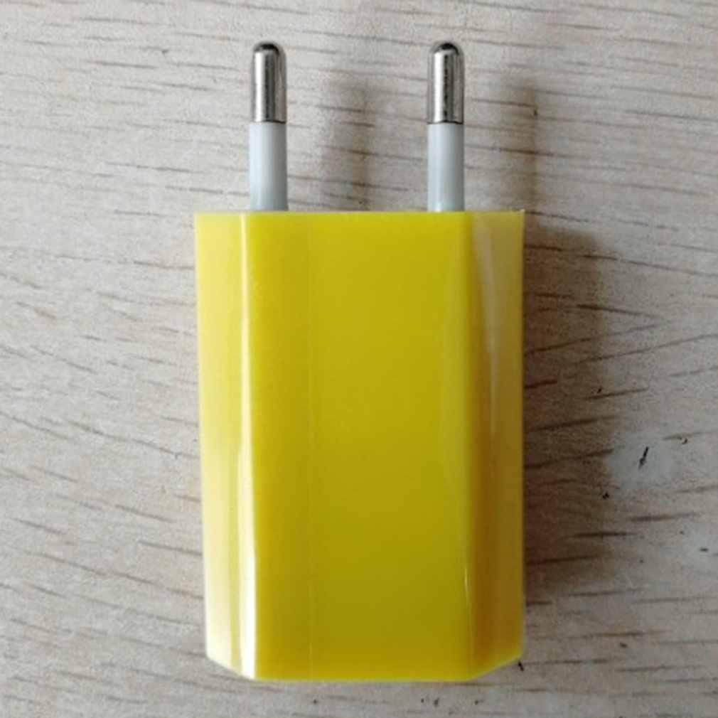 USB 壁の充電器充電器アダプタ 5V 500MA 単一の Usb ポート急速充電器ソケットキューブ iphone のための電話