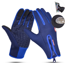 Cycling-Gloves Touchscreen Motorcycle Full-Finger-Bicycle Hiking Bike Outdoor Winter