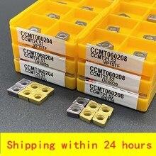 CCMT060204 CCMT060204 VP15TF UE6020 US735 Interne Fräser CNC Einfügen Drehmaschine Werkzeug CCMT 060204 Drehmaschine Teile Werkzeug