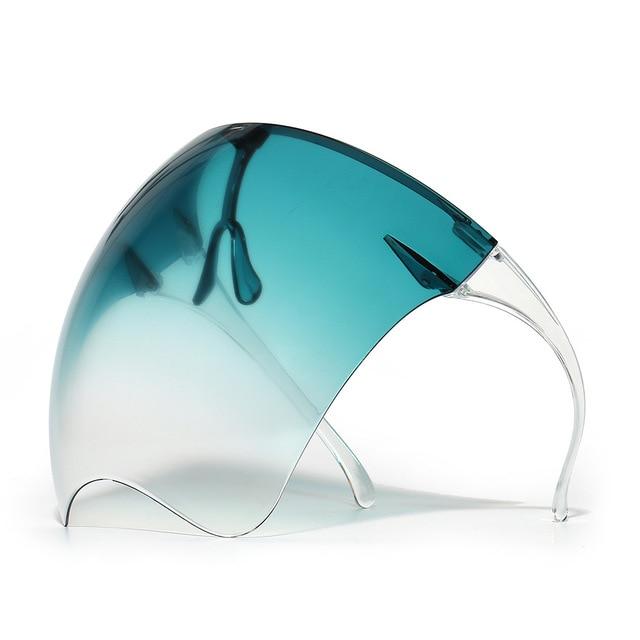 Blocc Protective Face-Shield Full Cover Visor Glasses/Sunglasses Anti-Spray Mask Protective Goggle Glass Sunglasses 5