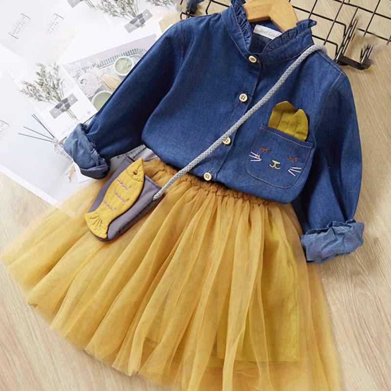 Hde066a1044df47cab802fd21d3b3d167B Melario Fashion Leopard Girls Dresses Autumn With belt Kids Dress Children Clothing Princess Dress Casual Kids Girls Clothes